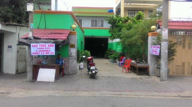 Cho thuê kho xưởng kiên cố Đường Bùi Văn Ba, Quận 7