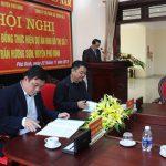 UBND huyện Phú Bình và Công ty Cổ phần xây dựng số 3 ký kết hợp đồng với Vinaconex 3 về việc triển khai dự án nhà ở liền kề tại huyện Phú Bình, tỉnh Thái Nguyên
