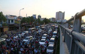 Tiến hành khởi công hàng loạt dự án tránh ùn tắc giao thông