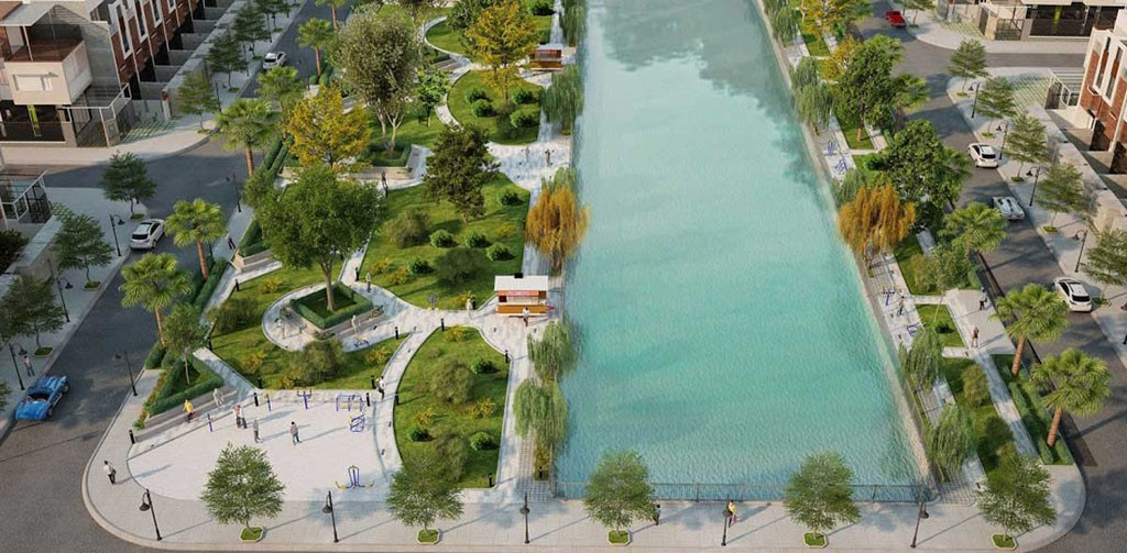 Garden Riverside Thủ Thừa