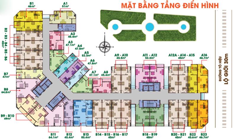 MAT BANG DU AN 8X DAM SEN