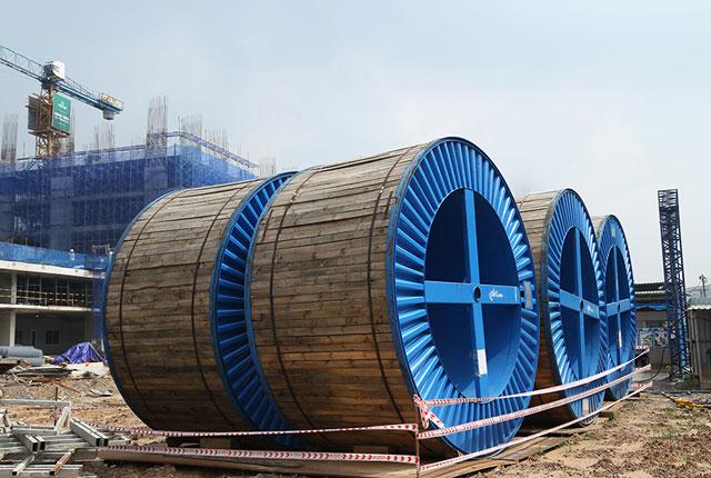 Thi công cáp ngầm điện cao thế (đạt 95% khối lượng)