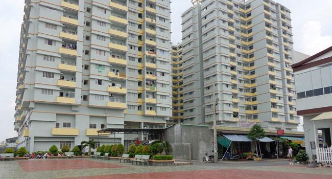 Hình ảnh chung cư Lê Thành Tân Tạo sau khi hoàn thiện