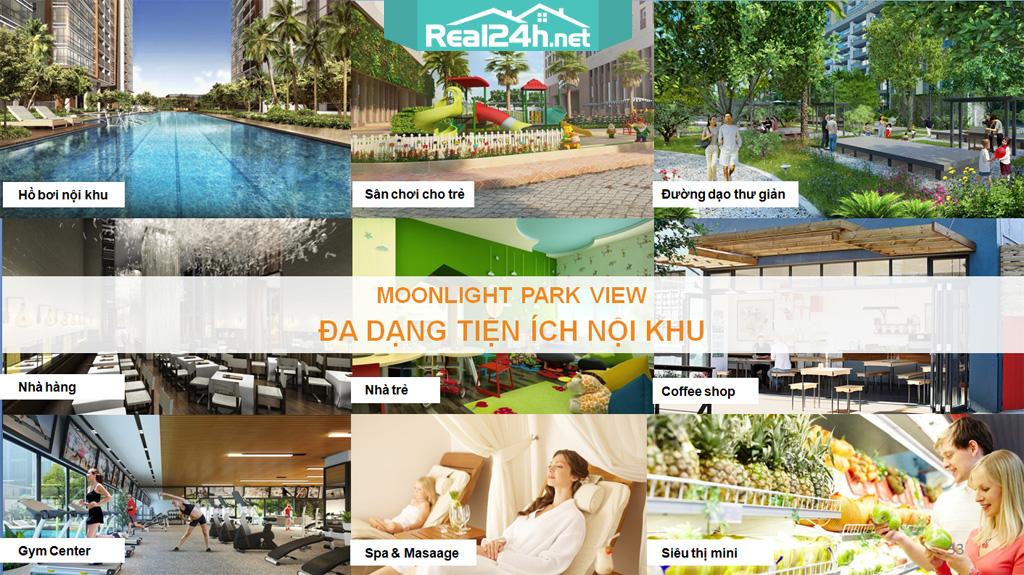 Tiện ích căn hộ Moonlight Parkview