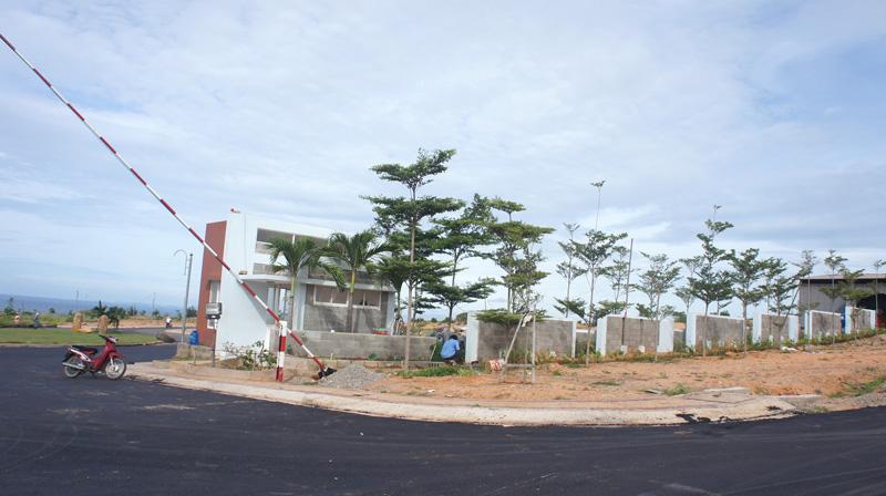 hạ tầng thi công sentosa villa