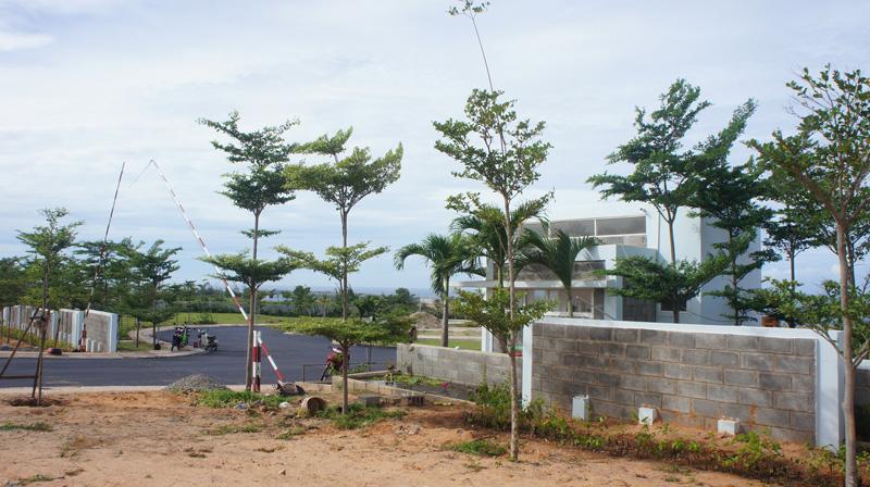 tiến độ xay dưng sentosa villa