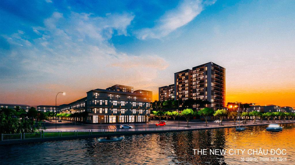 Tổng quan dự ánThe New City Châu Đốc