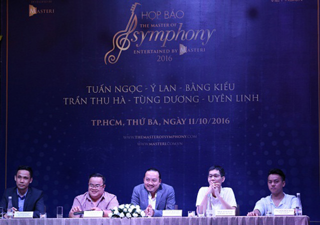 masteri to chuc buoi dien nghe thuat  The Master Of Symphony 2016