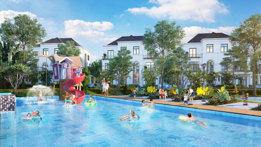 West Lakes Golf & Villas - Dự án biệt thự kết hợp với sân golf tiềm năng tại Long An